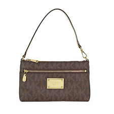 Michael Kors Jet Set Large Wristlet in Brown