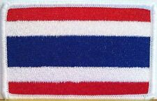 THAILAND Flag Patch With VELCRO® Brand Fastener Military Emblem #18