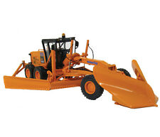 First Gear Komatsu GD655 Motor Grader w/V-Plow & Wing D.O.T. orange 1:50 Scale
