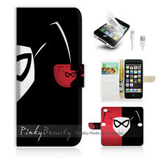 iPhone 5C Print Flip Wallet Case Cover! harley Quinn P0137