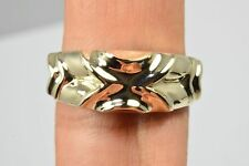 Women's Luxury Paloma Dome Gorgeous 10k Solid Yellow Gold Band Ring PSO Brand