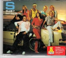 (EY114) S Club 7, Don't Stop Movin' - 2001 CD