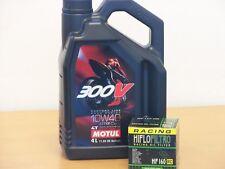Motul Öl 300V 10W-40 / Racing - Ölfilter BMW S1000 RR Bj 10 - 15