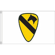 Us Airborne (1St Cavalry) Flag 5Ft X 3Ft United States Of America Banner New