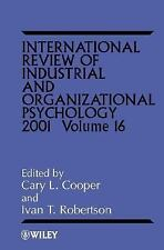 International Review Industrial & Org Psychology 2001