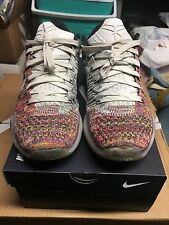 2015 Kobe X Elite Nike ID Low Flyknit Quickstrike Multicolor htm BEETHOVEN PREOW