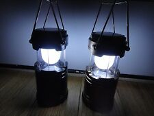 "2X-""ON SALE"" Solar Panel rechargeable outdoor camping light Lantern USB plug USA"