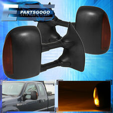 99-07 F250 F350 F450 F550 01-05 Excursion Extendable Power Heated Tow Mirrors