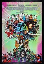 SUICIDE SQUAD * CineMasterpieces ORIGINAL DS 1SH MOVIE POSTER 2016 HARLEY QUINN