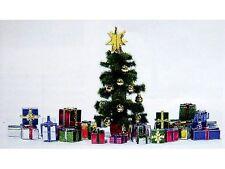 Busch 1140 Weihnachtsgeschenke Set mit Baum  Bausatz H0 Neu