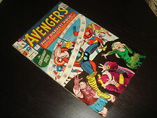 THE AVENGERS #7 Jack Kirby Silver Age Marvel Comics 1964 FN/VFN