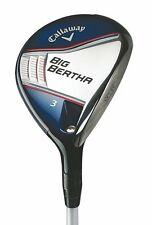 New Callaway Big Bertha 3 Fairway Wood Fubuki 65x5ct Regular flex Graphite shaft
