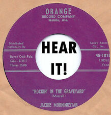 ROCKABILLY REPRO: JACKIE MORNINGSTAR - Rockin' In The Graveyard/No Date ORANGE