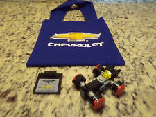 2017 Chicago Auto Show PROMO LEGO Batman Batmobile Chevrolet Chevy dealer bag