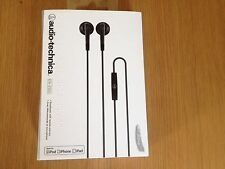NEW & BOXED AUDIO TECHNICA ATH-C505I EARPHONES WITH REMOTE & MIC FAST DISPATCH !