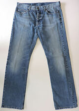 Burberry London Men's Straight Leg Button Fly Jeans Made in Italy 36 x 32 36R