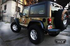 MCE Hi Clearance Generation II Fender Flares REAR Only Jeep Wrangler JK 07-16