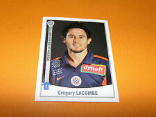 302 G. LACOMBE MONTPELLIER MHSC PAILLADE PANINI FOOT 2011 FOOTBALL 2010-2011