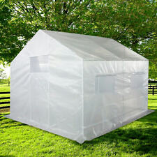 Quictent® 10' X 9' X 8' Portable Greenhouse Large Walk-in Green Garden Hot House