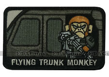 MilSpec Flying Trunk Monkey Swat USA Tactical Military Combat Army Morale Patch