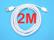 2M Long Micro USB Data Sync Charging Cable For Samsung Galaxy S3 S4 i9100 i9300