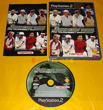 SMASH COURT TENNIS PRO TOURNAMENT 1 Ps2 Versione Italiana 1ª Edizione ○ COMPLETO