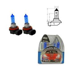 H11 7500K 100W Replacement Fog Light / Lamp Bulbs HID Look Xenon Blue - Audi