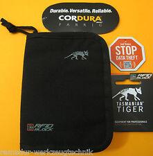 Tigre Tasmanian ® mil Wallet RFID bloque-cryptalloy ® monedero especial nuevo bolsa
