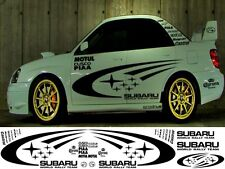 SUBARU WORLD RALLY KIT  (1 COL) WRX STI P1 IMPREZA GRAPHICS STICKERS