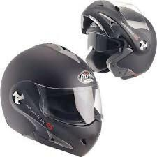 CASCO MOTO MATHISSE RS NERO MATT TG. XL