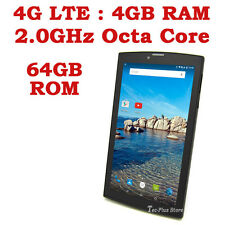 "EU STOCK: TECA 706B 4G LTE ANDROID 5.1 OCTA CORE 4GB-RAM 64GB 7"" TABLET PHONE x"