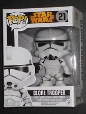 STAR WARS CLONE TROOPER BOBBLE HEAD POP VINYL FIGURE FUNKO EMPIRE LUCAS VAULT