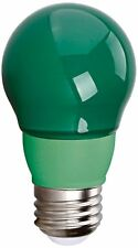 3 Watt LED Colored Party Light Bulb A15 - Green - Medium Base - 40 Watt Equal