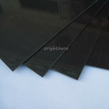 SALE 200×300×2mm With 100% Real Carbon Fiber plate/panel/sheet 3K plain weave OE
