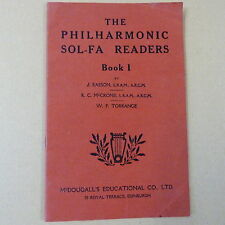 books THE PHILHARMONIC SOL-FA READERS Book 1, J. Easson, McCrone, Torrance