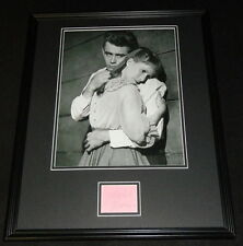 Julie Harris Signed Framed 16x20 Poster Photo Display JSA w/ James Dean