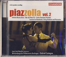Piazzolla: Symphonic Works, Vol. 2 (CD, May-2007, Chandos) New