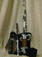 UILLEANN Pipe AFRICAN BLACK WOOD umacreationz