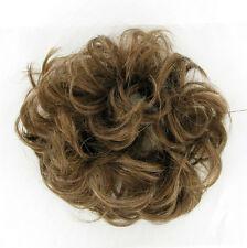 chouchou peruk cheveux châtain clair doré ref: 17 en 12