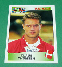 N°289 CLAUS THOMSEN DANMARK PANINI FOOTBALL UEFA EURO 96 EUROPE EUROPA 1996