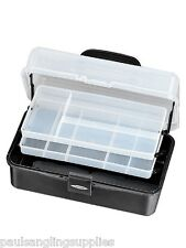 BRAND NEW  2 TRAY CANTILEVER  FISHING TACKLE BOX LARGE