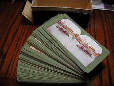Japan Complete set of 100 Stereoviews by T.W. Ingersoll with Original Box