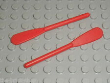 Rame LEGO minifig red oar 2542 / set 6290 6278 6267 6270 6276 6289 6292 6285 ...