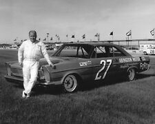 1965 Nascar Driver WILLIAM 'CALE' YARBOROUGH Glossy 8x10 Photo Stock Car Poster