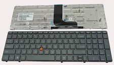 NEW For HP EliteBook 8560W Series US Keyboard With Point Stick Black Spare