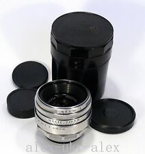 "Rare 13 blades red ""П"" Helios-44 lens M42 adapted 2/58 mm .№0005428.Exc+.CLA"