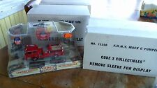 Code 3 Diecast FDNY 1/64 scale Fire Engine Pumper ENGINE 71 MACK C 12350 new