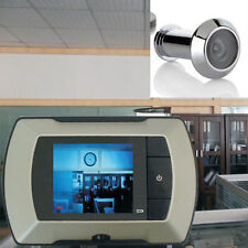 "2.4"" LCD Visual Monitor Door Peephole Peep Hole Wireless  Camera Video HOT US EA"