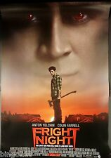 FRIGHT NIGHT 2011 1 SHEET POSTER COLIN FARRELL DAVID TENNANT ANTON YELCHIN