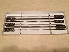 All Clad, Set of 6 (SIX) Stainless Steel BBQ Skewers